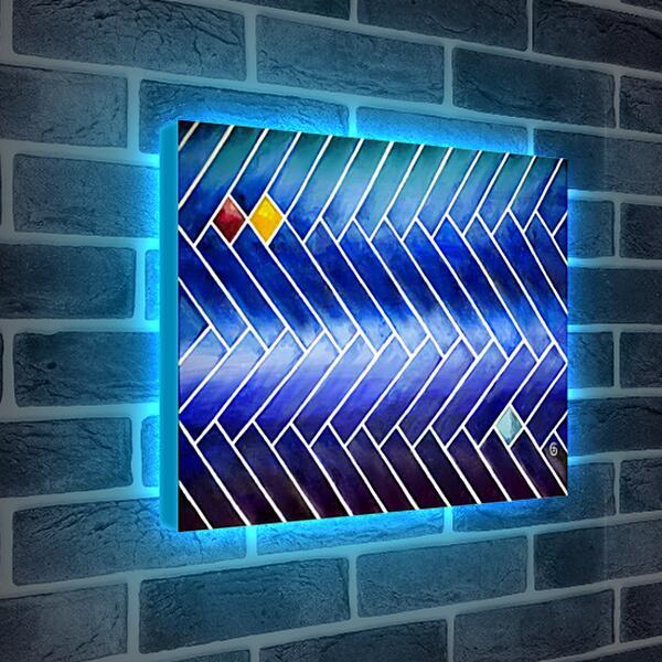 Лайтбокс световая панель - Индиго