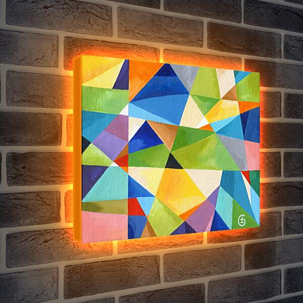 Лайтбокс световая панель - Лето