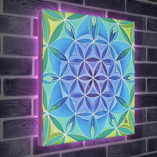 Лайтбокс световая панель - Мандала