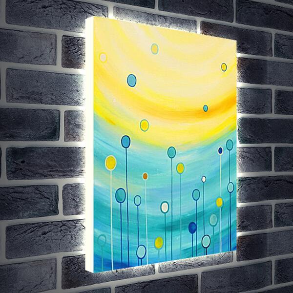 Лайтбокс световая панель - Дорога к солнцу