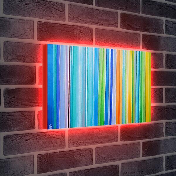 Лайтбокс световая панель - Безмятежное лето