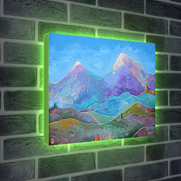 Лайтбокс световая панель - Арарат