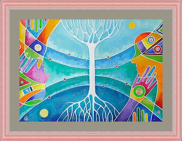 Картина в раме - Гармония мира