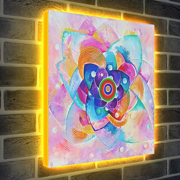 Лайтбокс световая панель - Любовь