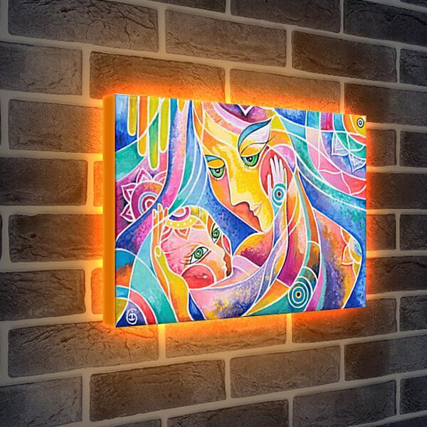 Лайтбокс световая панель - Материнство
