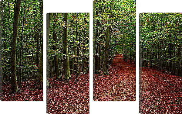 Модульная картина - Осень