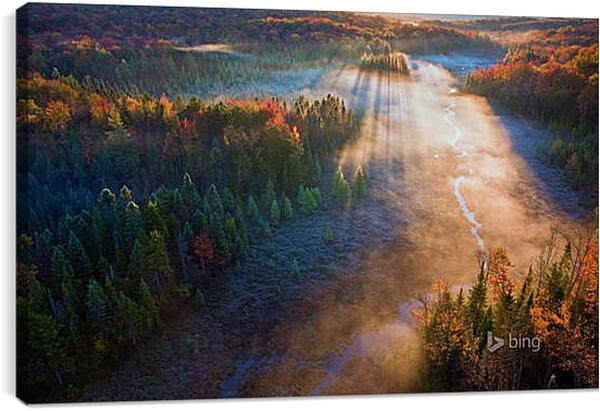 Постер на подрамнике - Осень