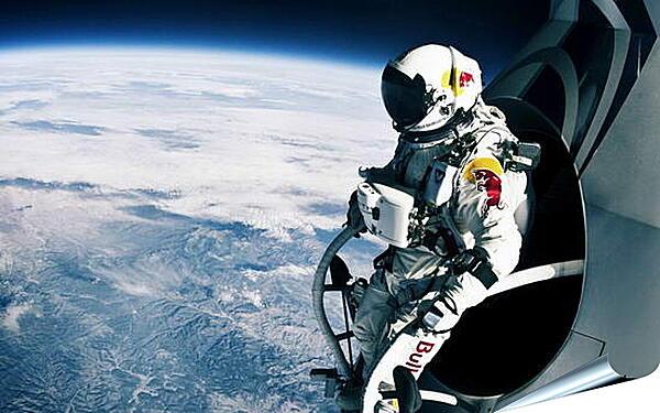 Плакат на стену - Космонавт на орбите