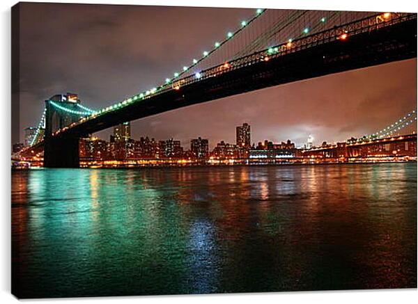Постер на подрамнике - Нью-Йорк 4