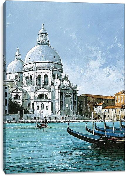 Постер на подрамнике - Канал в Венеции