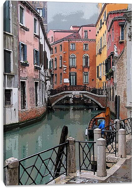 Постер на подрамнике - Венеция. Италия.