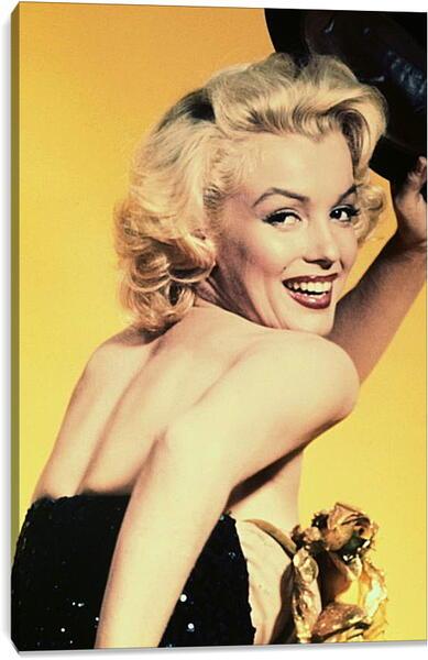 Постер на подрамнике - Улыбка Мерилин Монро