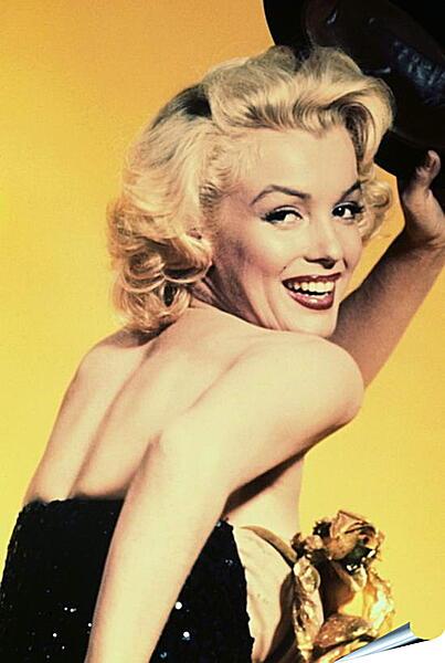 Плакат на стену - Улыбка Мерилин Монро
