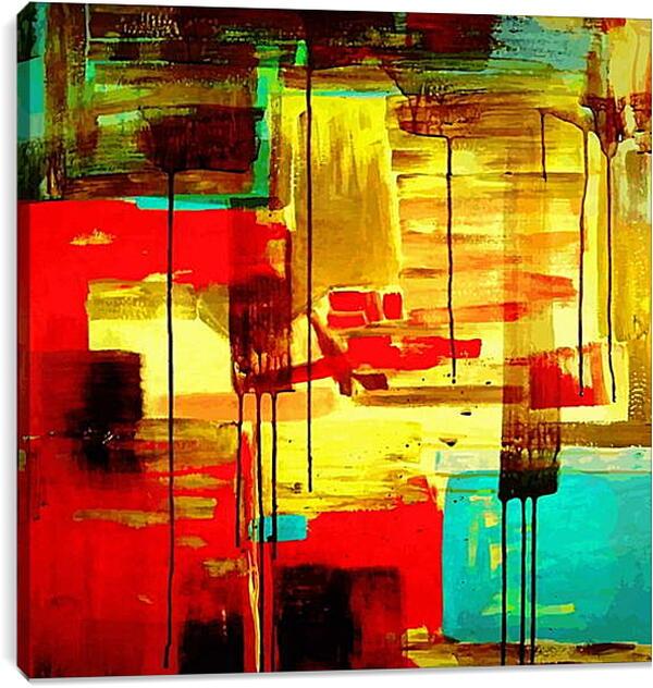 Постер на подрамнике - Арт абстракция
