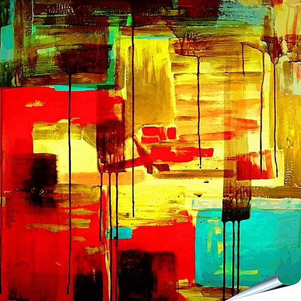Плакат на стену - Арт абстракция