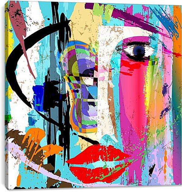 Постер на подрамнике - Абстракция (арт)