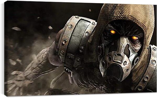 Постер на подрамнике - mortal kombat x, tremor, ninja