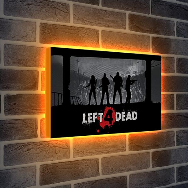 Лайтбокс световая панель - Left 4 Dead