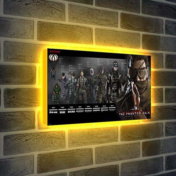 Лайтбокс световая панель - Metal Gear Solid V: The Phantom Pain