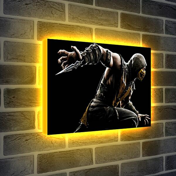 Лайтбокс световая панель - Mortal Kombat X