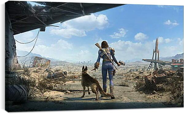 Постер на подрамнике - Fallout 4