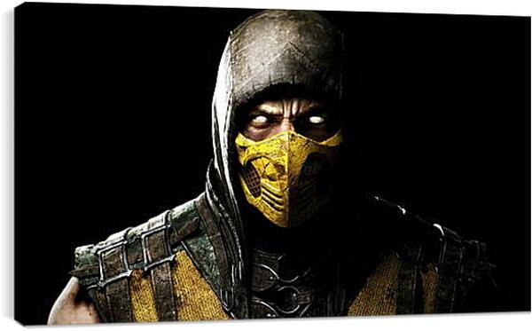 Постер на подрамнике - Mortal  Kombat
