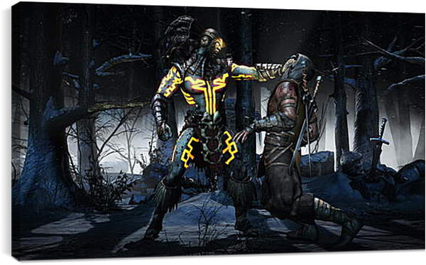 Постер на подрамнике - Mortal Kombat X
