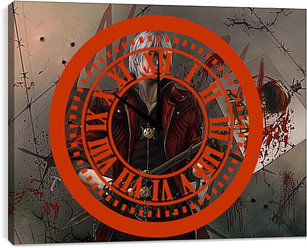 Часы картина - Devil May Cry