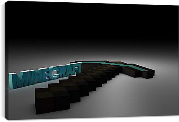 Постер на подрамнике - Minecraft