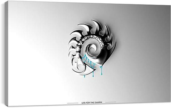 Постер на подрамнике - Starcraft