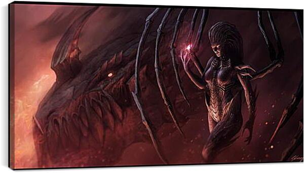 Постер на подрамнике - Starcraft II