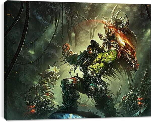 Постер на подрамнике - Warcraft
