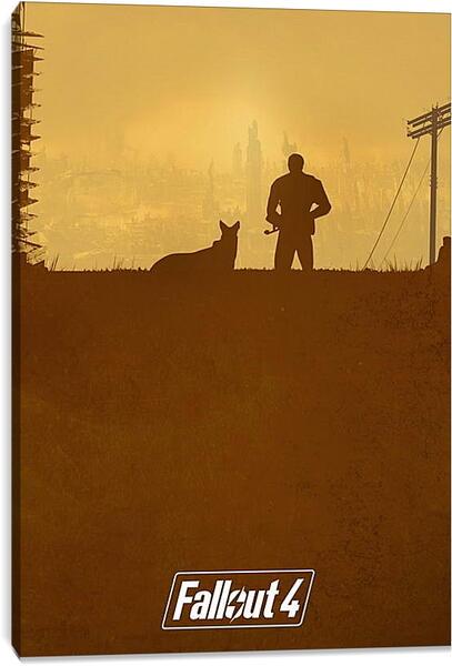 Постер на подрамнике - Fallout