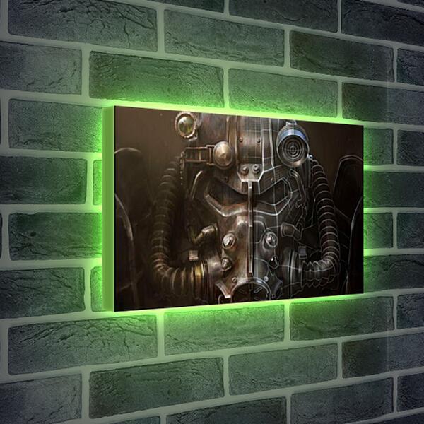 Лайтбокс световая панель - Fallout