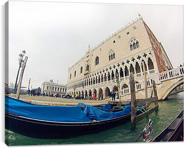 Постер на подрамнике - Doges Palace in Venice - Дворец Дожей в Венеции