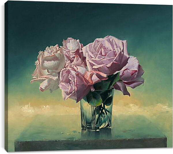 Постер на подрамнике - Розы
