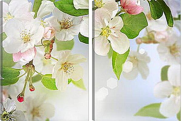 Модульная картина - Весна