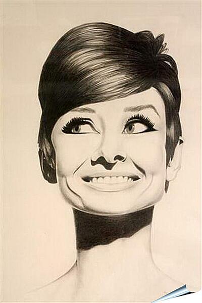 Плакат на стену - Audrey Hepburn - Одри Хепберн