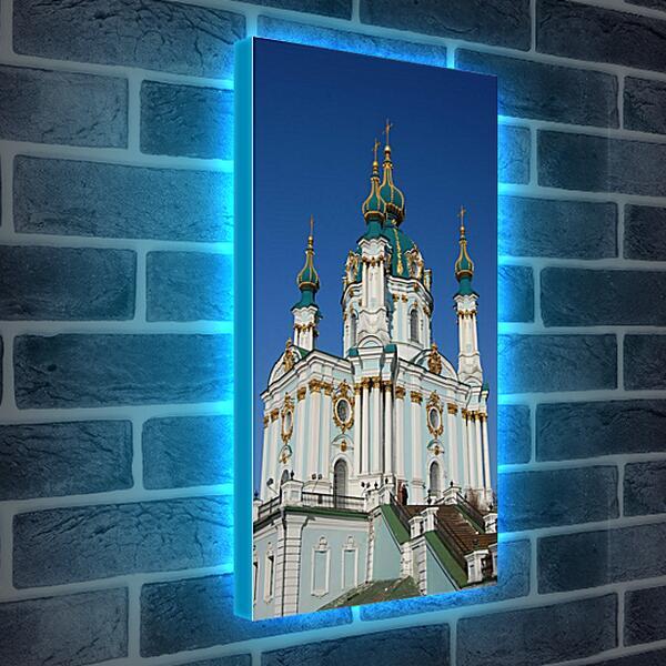Лайтбокс световая панель - Храм