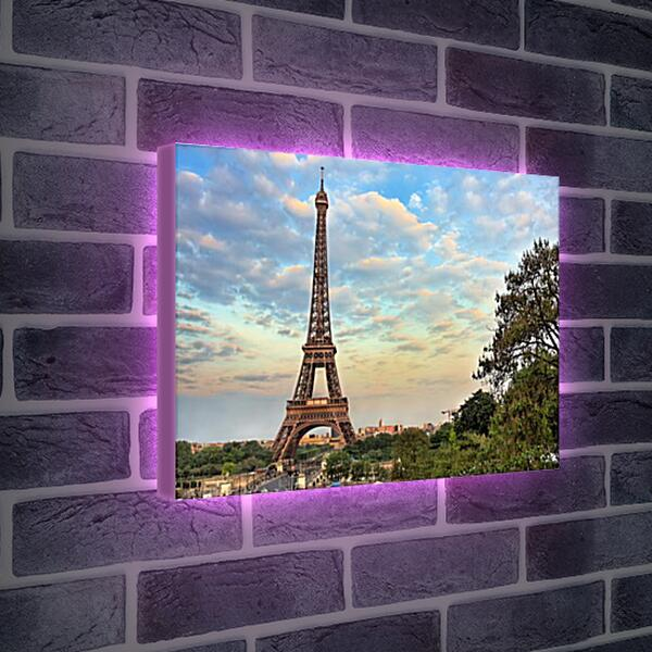 Лайтбокс световая панель - Эйфелева башня