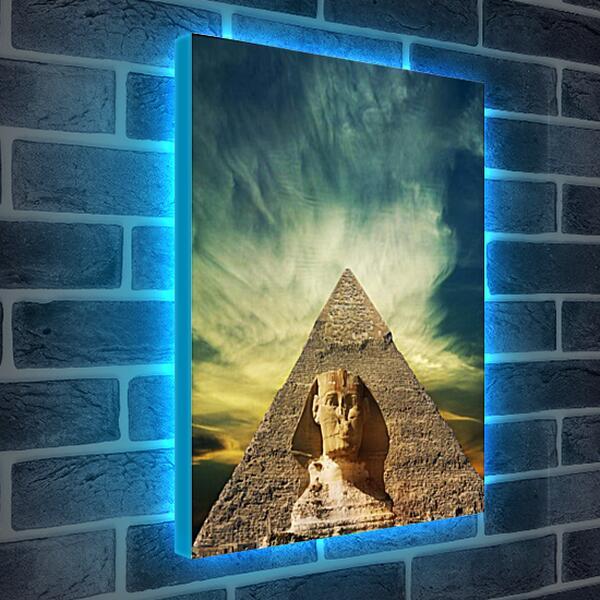 Лайтбокс световая панель - Египет