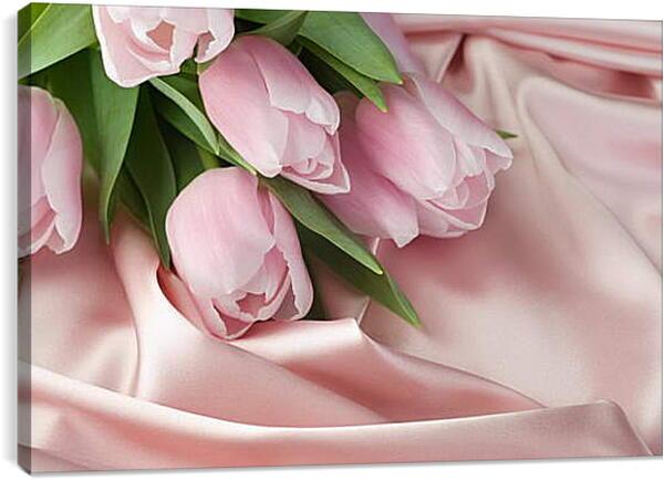 Постер на подрамнике - Тюльпаны
