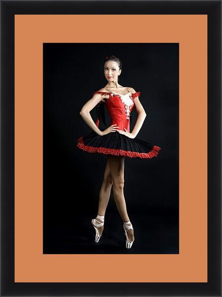 Картина в раме - Балерина
