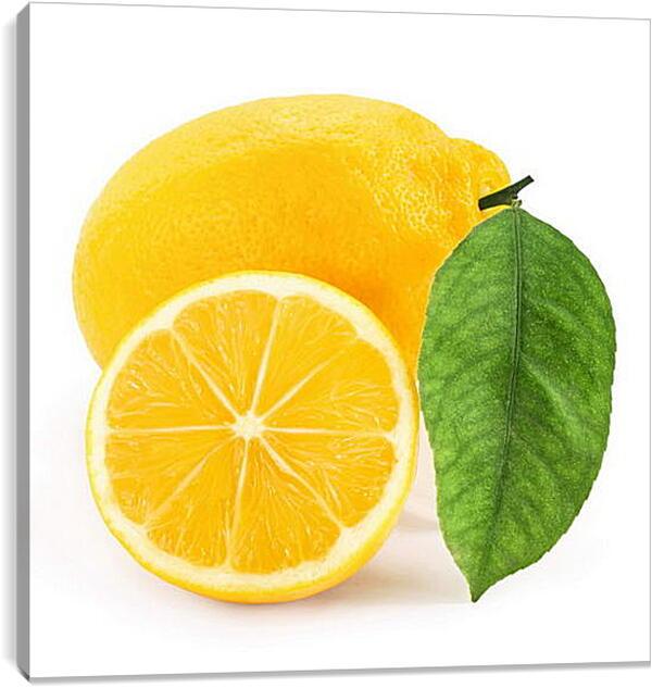 Постер на подрамнике - Лимон