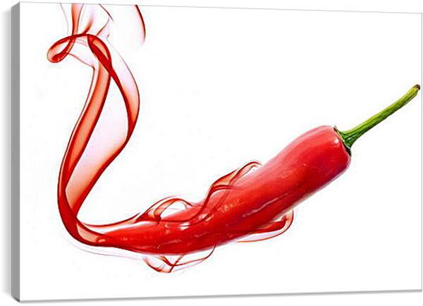 Постер на подрамнике - Красный перец