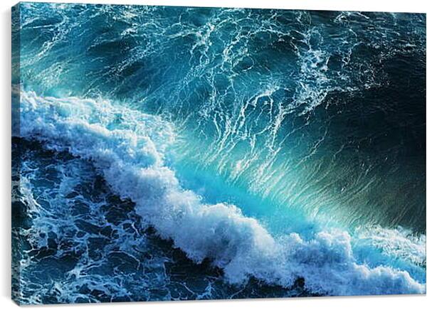 Постер на подрамнике - Длинная волна