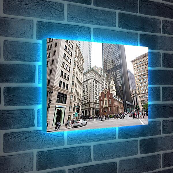 Лайтбокс световая панель - Бостон
