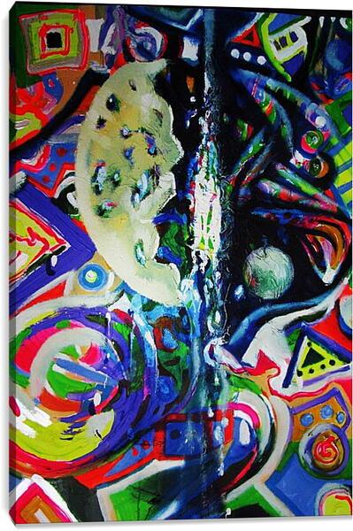 Постер на подрамнике - Абстракция