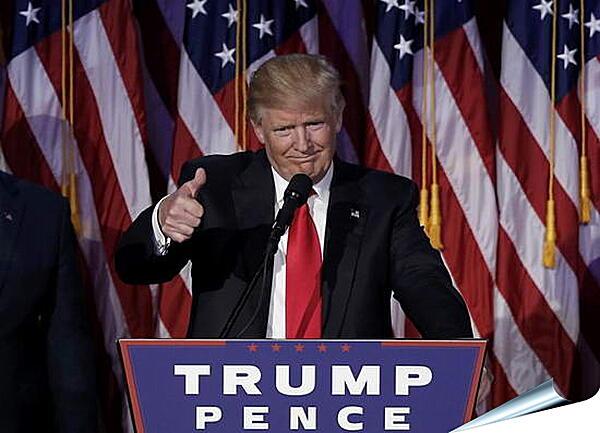 Плакат на стену - Дональд Трамп