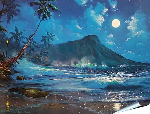 Плакат на стену - Пляж